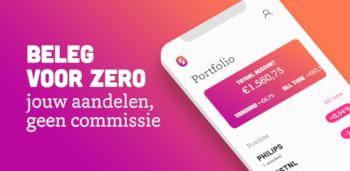 Bux Zero: beleggen zonder commissie en een gratis aandeel via de beleggen bonus actie.