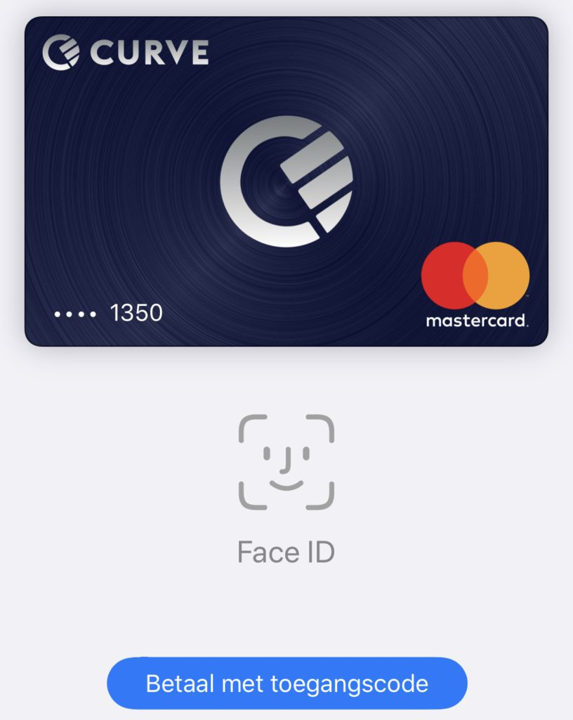 Apple Pay werkt perfect!