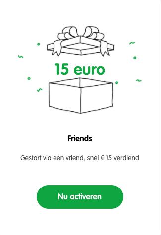 15 euro booster activeren Semmie - beleggen bonus actie in geld