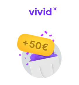 Tot 50 euro cashback per maand via Vivid Money 'Super Deals' zoals 10% cashback op Lidl boodschappen