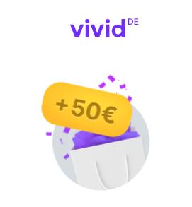 Tot 50 euro cashback per maand via Vivid Money 'Super Deals' via bijvoorbeeld 10% cashback op Lidl boodschappen