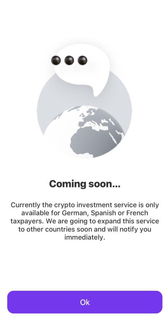 Vivid Crypto is helaas nog niet beschikbaar in Nederland